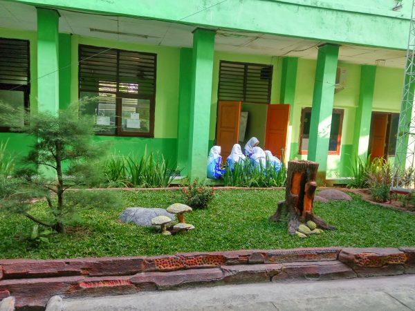 Kegiatan Penilaian Lomba Kebersihan Sekolah